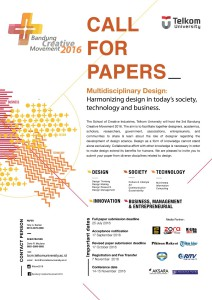 Call for paper bcm 2016